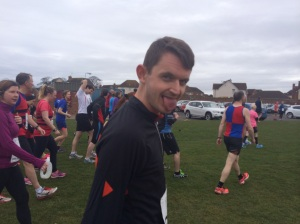 That's Mikey's I'm gonna PB today face. Well done!