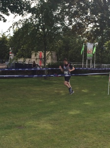 Action shot...gunning for the PB