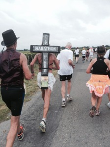 Marathon du Medoc is so awesome even Jesus runs it!