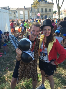 I can do it! Marathon du Medoc 2014 success!