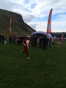 Monkey Girl finishes the race!